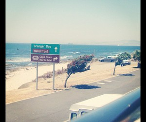 beach, cape town, and life image
