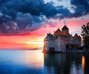 castle, gorgeous, and scenery image
