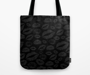 bags, black, and Darkness image