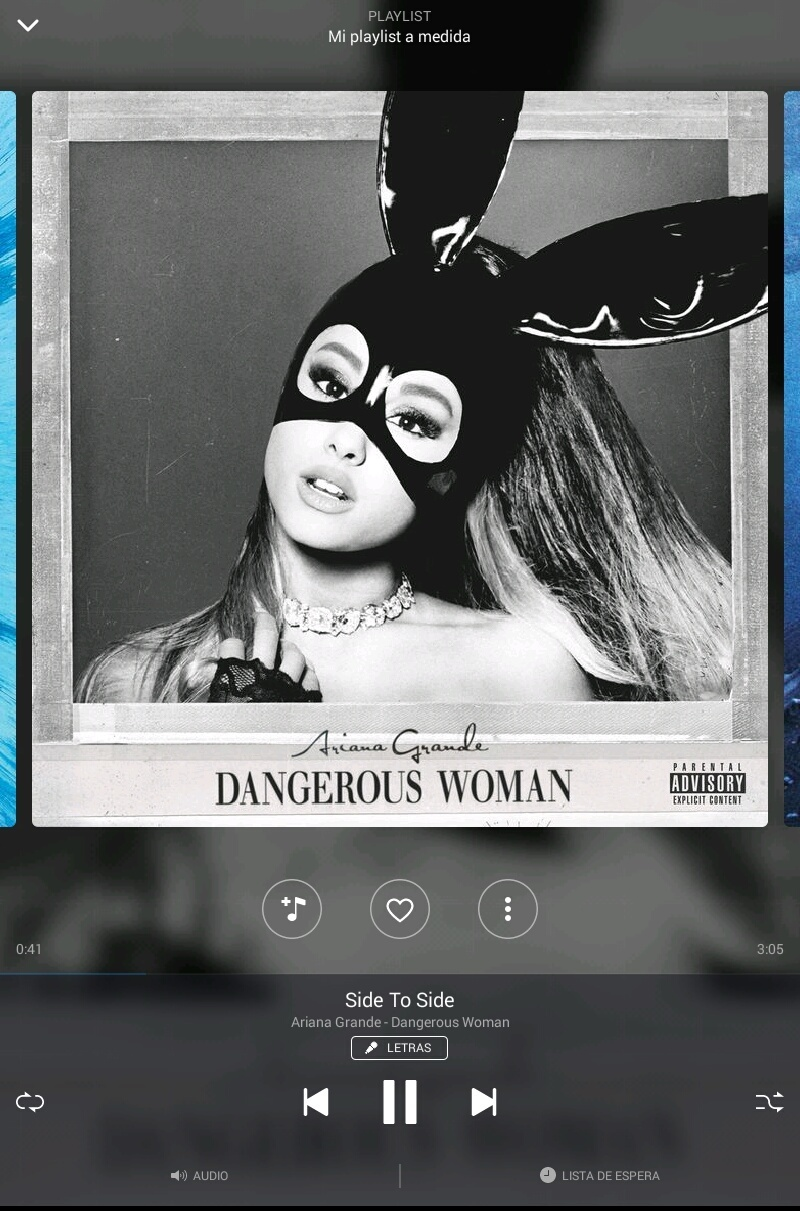 dangerous woman, ariana grande, and side to side image