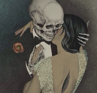 love, art, and death image