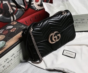 gucci, bag, and accessories image