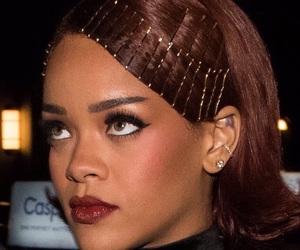rihanna, beauty, and hair image