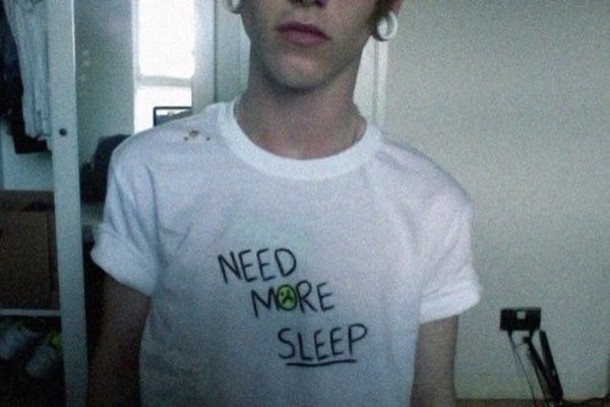 boy, sleep, and grunge image
