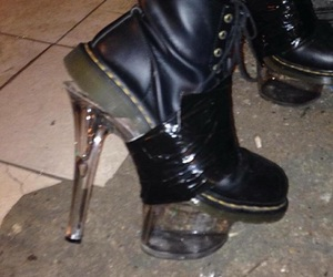 boots, edgy, and girls night image
