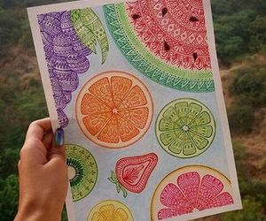 FRUiTS and mandala image