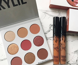 beauty, girly, and kylie makeup image