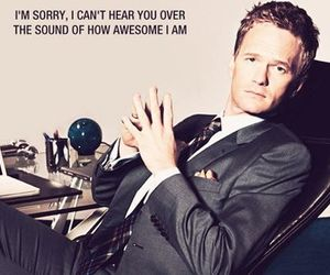 awesome, Barney Stinson, and how i met your mother image