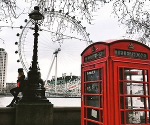 london and london eye image