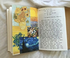 art, yellow, and book image