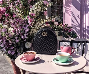 gucci, fashion, and tea image