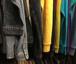 aesthetic, clothes, and colorful image
