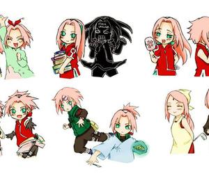 anime, anime girl, and chibi image