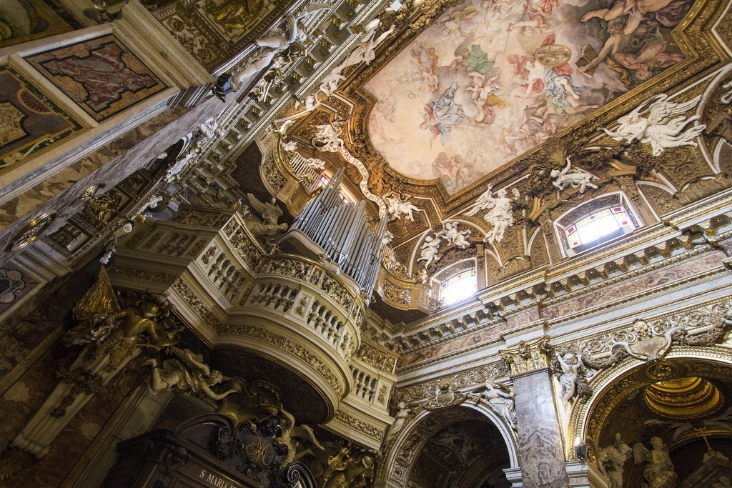 architecture, church, and rome image
