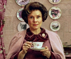 dolores umbridge, fantasy, and harry potter image