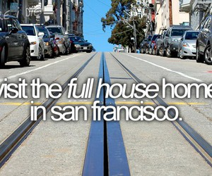bucket list and full house image