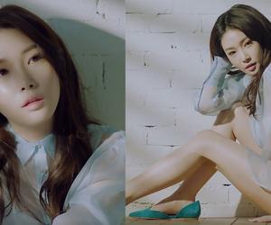 girl, korea, and chungha image