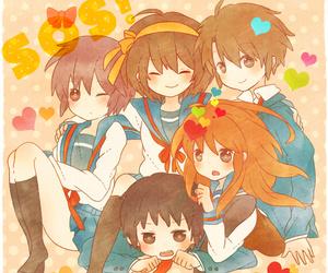 anime, yuki, and suzumiya haruhi no yuutsu image