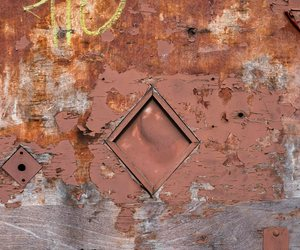 abstract photography, decay, and rust image