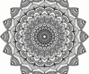 mandala, peace, and relax image