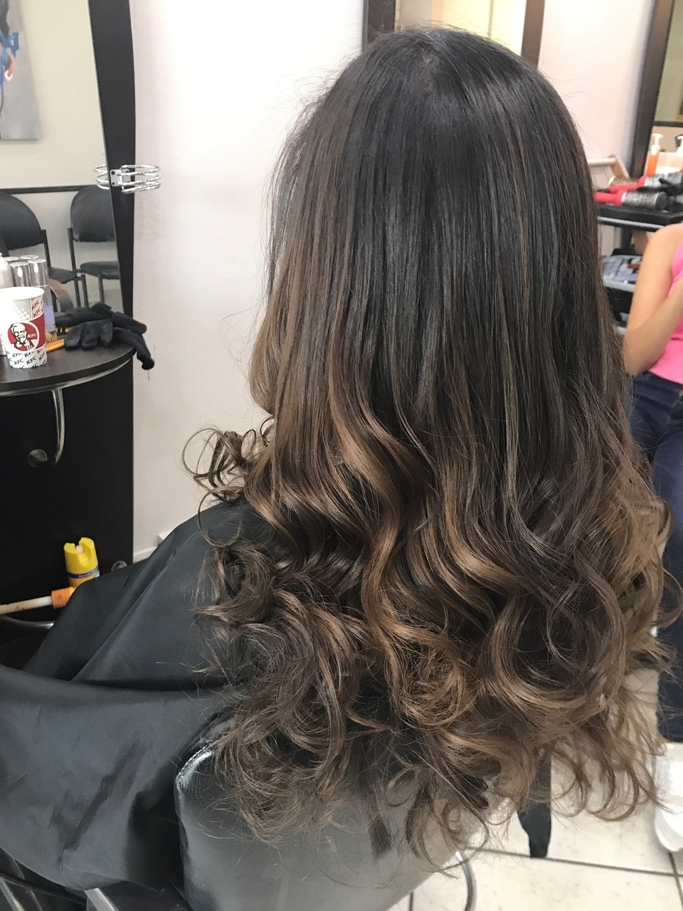 Dark Brown Hair Balayage Uploaded By Alejandra