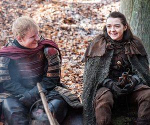 game of thrones, ed sheeran, and arya stark image
