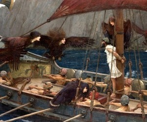 """""""ulysses and the sirens"""" image"""