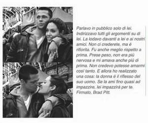 brad pitt, love, and Angelina Jolie image