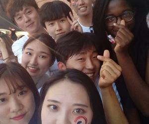 korea, black girls, and korean image