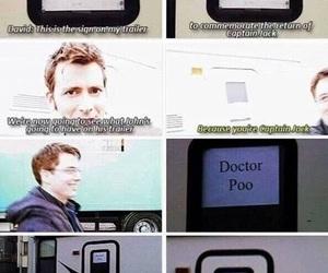 david tennant, doctor who, and john barrowman image