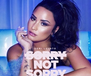 demi lovato, sorry not sorry, and music image