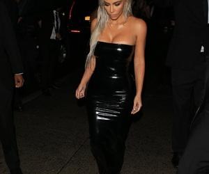 kim kardashian and nyfw image