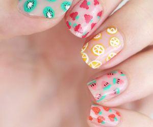 fruit and nail art image