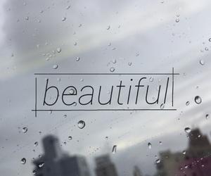 beautiful, rain, and window image