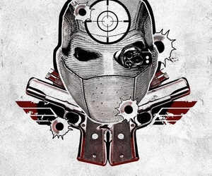 movie, deadshot, and suicide squad image