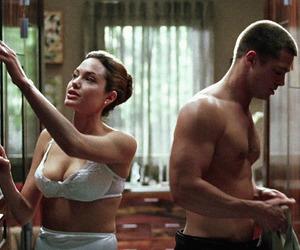 film, Angelina Jolie, and brad pitt image