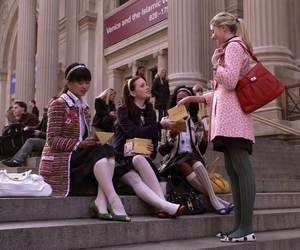 gossip girl and fashion image