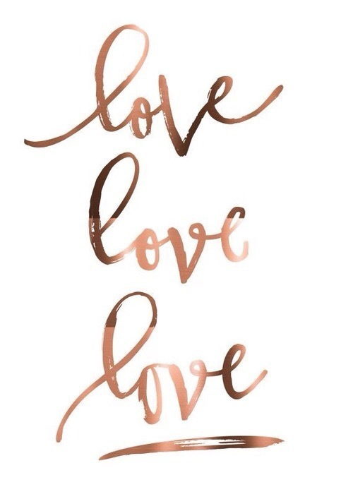 love, wallpaper, and gold image