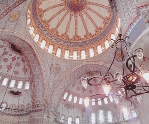 architecture, blue mosque, and islam image