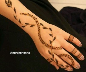 henna, UAE, and mehandi image