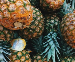 summer, goals, and pineapple image
