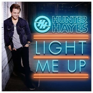 encore, hunter hayes, and light me up image
