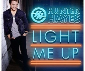 encore, light me up, and hunter hayes image