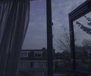 window, sky, and aesthetic image