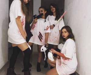 girls, Halloween, and ideas image