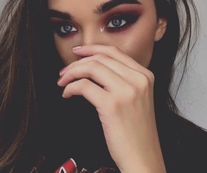 makeup, fashion, and girl image