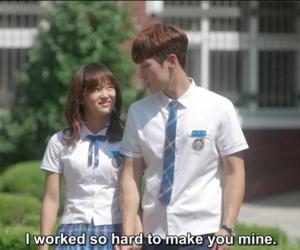 couple, drama, and high school image