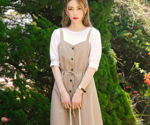 fashion, dress, and korean fashion image