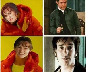 Mr. Darcy, yep, and jane austin image