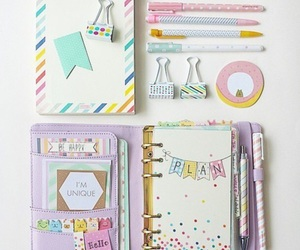 school, diy, and planner image
